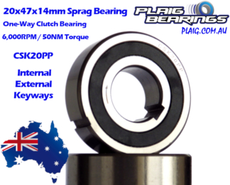 Sprag Clutch Bearings