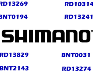 Shimano Bearings Individually